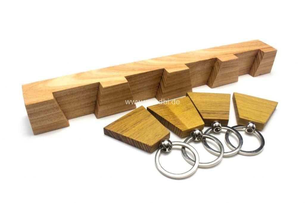 Schlüsselhalter aus Holz