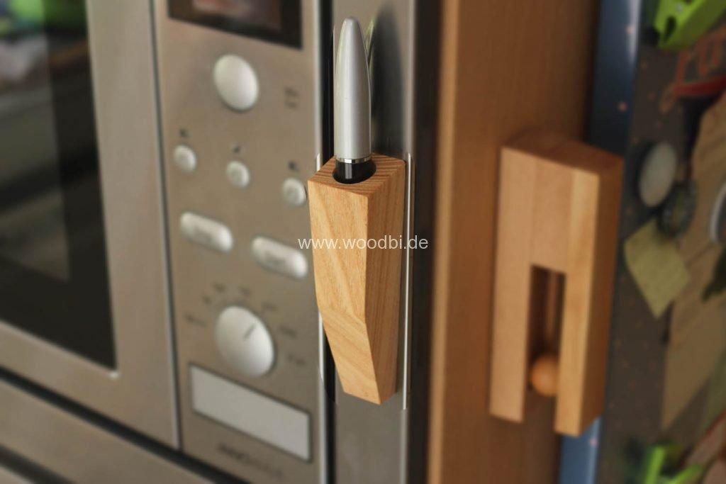 Stifthalter aus Holz Rosenholz