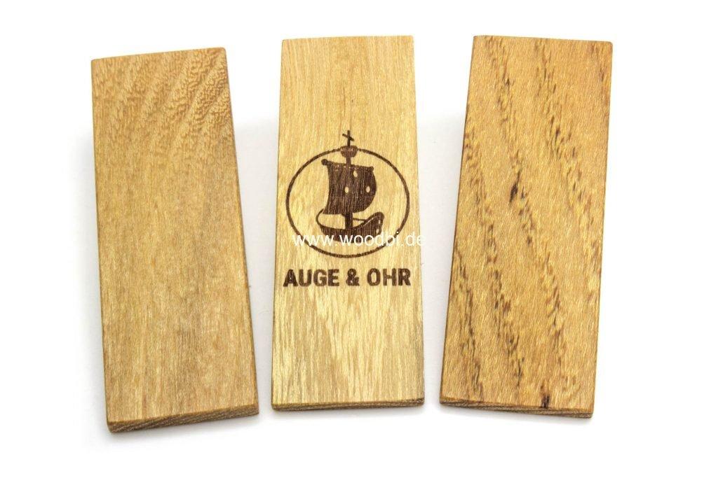 Magnethalter aus Holz