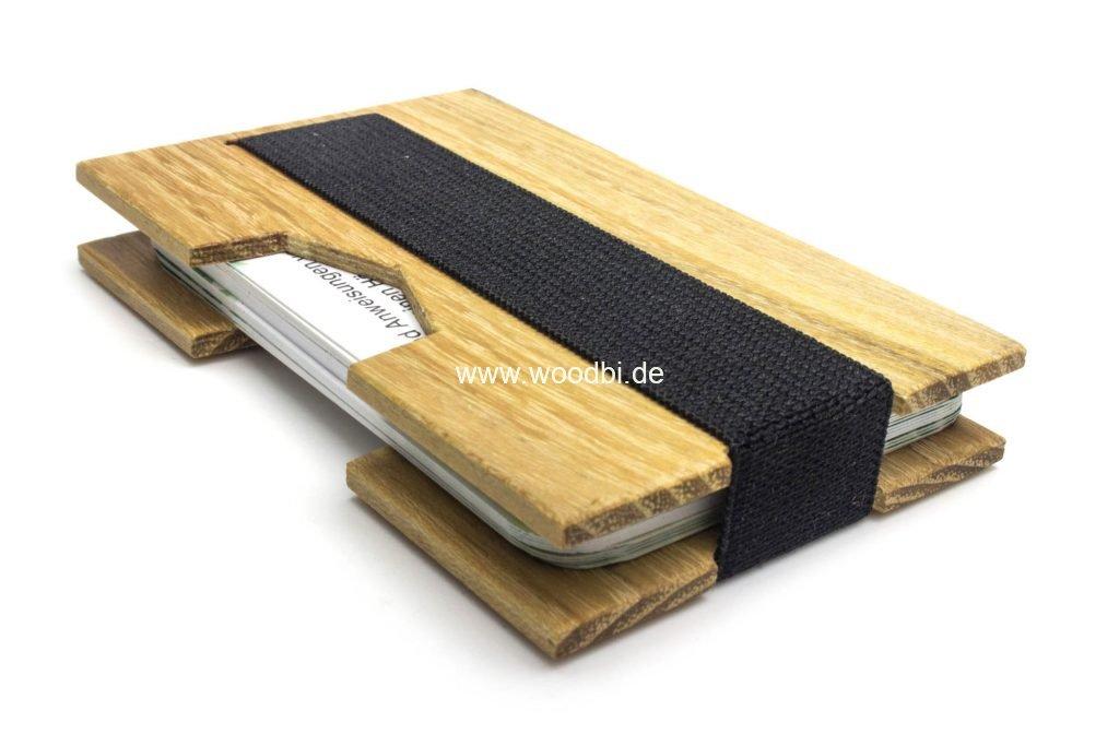 Kreditkartenetui Holz