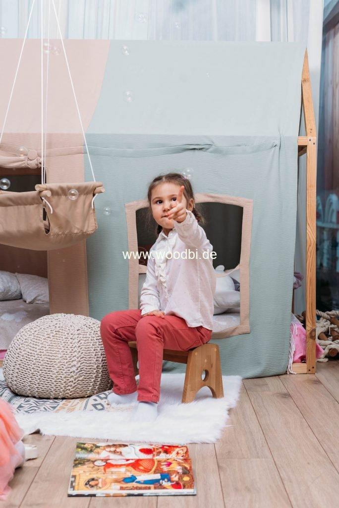 Kinderhocker aus Holz für Kinder und Erwachsene