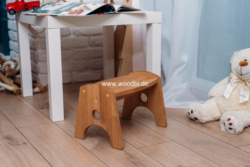 Schemel für Kinder aus Holz