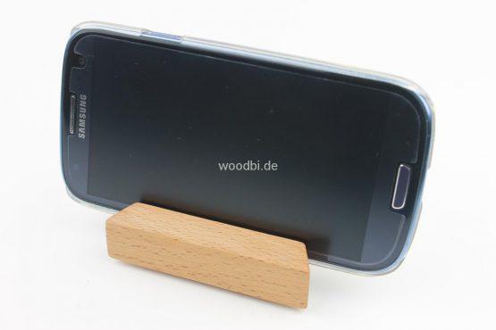 """Visitenkartenhalter """"MNEME"""" aus Holz - Buche"""