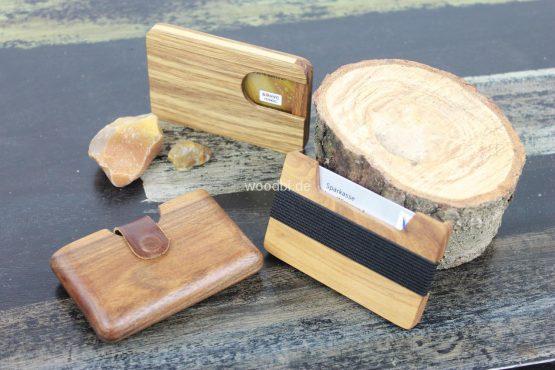"Holz Portemonnaie ""EUKELADE"" aus Holz - Akazie"