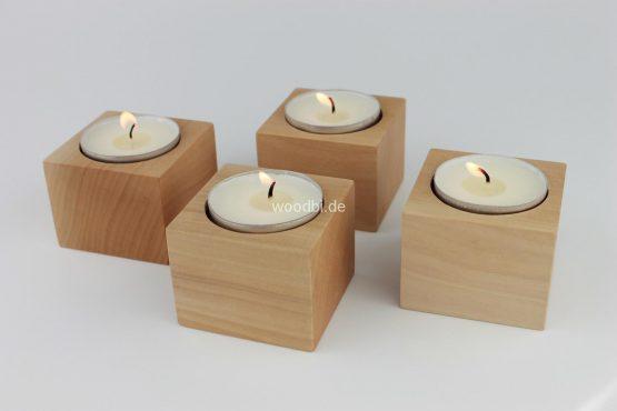 """Kerzenständer """"PRAXIDIKE"""" ´- Holz Birne"""