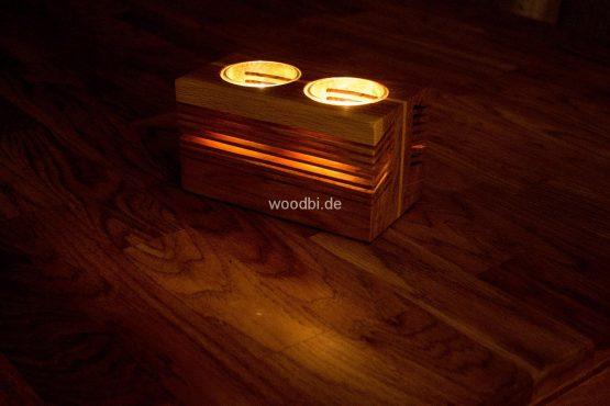 "Kerzenständer aus Holz ""THYONE"""